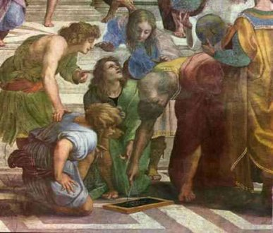 Scuola di Atene by Raffaello