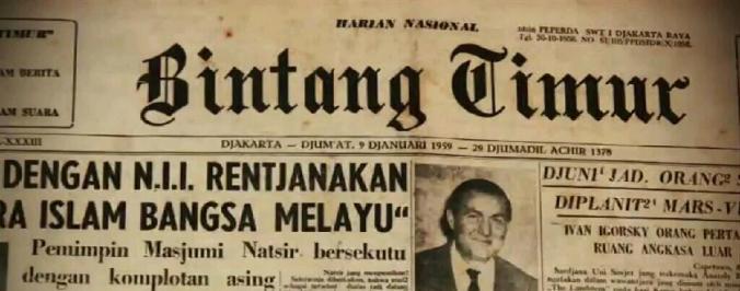Harian Bintang Timur.